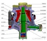 Broyeur hydraulique de cône de Sadvik 660