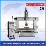 Ele-1224 CNC van 5 As de Machine van het Houtsnijwerk voor 3D Houten die Gravure in Jinan in China wordt gemaakt