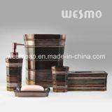 Accessoires multicolores de salle de bains de Polyresin de type de Moyen-Orient (WBP1123A)