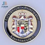 Металл логоса эмали отливки сплава верхнего качества изготовленный на заказ чествуют или монетка сувенира