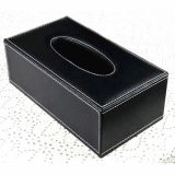 Qualitäts-MDF-ledernes Gewebe Box-Hx02