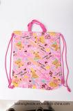 多彩な方法編む綿のショッピング・バッグ