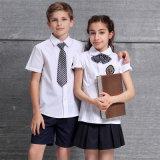 아이 셔츠와 치마 교복 의 교복 백색 셔츠