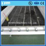 Водяное охлаждение 3D высекая гравировальный станок CNC Ww1530m каменный стеклянный