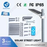 Diodo emissor de luz solar dos produtos que ilumina a luz de rua solar com sensor de movimento