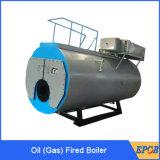 Heet Water Drie van de Stoom van de output de Horizontale Boiler van het Gas van de Stookolie van de Pas