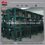 Rack de prateleira de fluxo de slides industrial de laminação a frio