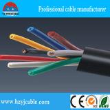 кабель системы управления 450/750V Muticore гибкий, спецификация кабеля системы управления Sheilded оплетки, кабель контроля системы