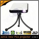 Projetor Pocket de 2016 mini projetores do projetor 500lumens do diodo emissor de luz mini
