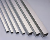 pipe carrée soudée d'acier inoxydable de 304 316 CY