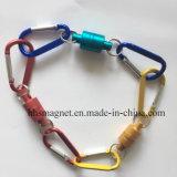 Crochets magnétiques permanents pour outil de pêche