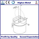 Adattatore di tubo per la balaustra ed il corrimano dell'inferriata dell'acciaio inossidabile