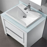 Шкаф ванной комнаты пола меламина высокого качества стоящий