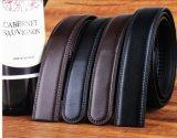 Correias de couro pretas do vestido para os homens (HPX-160704)