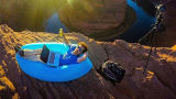 2016の新製品の空気ソファーのキャンプのLamzacのたまり場の寝袋の膨脹可能なベンチのベッド