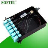De Optische Om3 MPO Cassette van de vezel