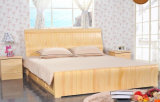 Camas matrimoniales modernas de la cama de madera sólida (M-X2239)