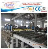 最もよい価格PVC皮の泡のボードWPCの構築のテンプレートの放出ライン