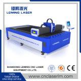 Machine de découpage de laser de fibre de fournisseur de la Chine Lm3015g avec le Tableau simple