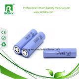 bateria de íon de lítio de 2600mAh Samsung 18650 para a motocicleta elétrica