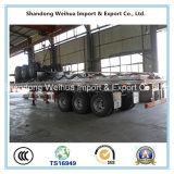 Halb LKW-Schlussteil mit Welle 3 20FT/40FT Behälter-Flachbettschlußteil von der China-Fertigung