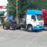 HOWO 371の中国のトラクターの価格3の車軸トラクターのトラック