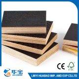 Hoja de contrachapado de madera dura de 18 mm para hormigón de encofrado