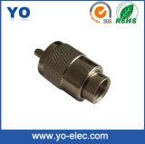 Pl259 connecteur Rg213 (YO 5-003) de torsion de prise masculine de la fréquence ultra-haute