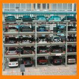 De hoge ARP van de Gelijkenis van het Eind Gelijkaardige AutoCarrousel die van de Apparatuur van de Lift van het Parkeren het Roterende Systeem van het Parkeren parkeren