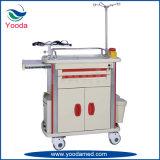 Krankenhaus-medizinische Ausrüstung ABS Notkarre