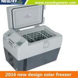 Холодильник замораживателя 12V Freezercar портативного холодильника автомобиля компрессора замораживателя автомобиля портативного сь портативный солнечный