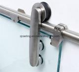 Zilveren kijk de Hardware van de Deur van het Glas van het Systeem van de Schuifdeur van het Glas
