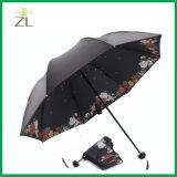جيّدة الصين صاحب مصنع محترفة آليّة ثلاثة ثني مظلة
