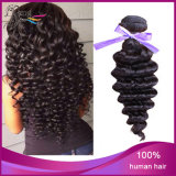 Cheveux humains de bonne qualité des cheveux humains 100%