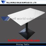 Tabella pranzante superiore di vendita del marmo di pietra artificiale caldo del ristorante