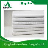 300g Cor branca Fibra Curta Geo Têxtil Sem Tecido de tecido de poliéster