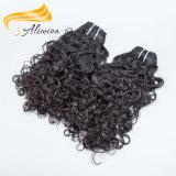 柔らかく、スムーズでより厚いカンボジアのカーリーヘアーは編む