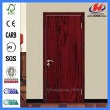 Porte intérieure conçue économique de placage en bois solide de bonne qualité (JHK-FC07)