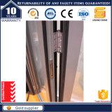 Porte de pliage en aluminium luxueuse de 6 lames
