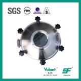 Boca de alta presión higiénica del tanque del acero inoxidable