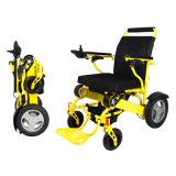 무능을%s 전자 휠체어를 접히는 알루미늄 Portable