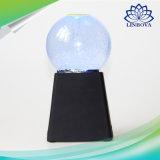 Mini altofalante portátil colorido do diodo emissor de luz Bluetooth da rotação da esfera de cristal da água para o computador/iPhone/toque 4/Android