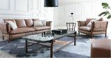 Sofá de couro italiano de alta densidade Sponge Corner Italy