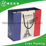 Les sacs en papier bon marché et seuls professionnellement d'approvisionnement avec des traitements vendent en gros