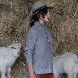 Самый лучший продавая свитер кашемира пуловера шеи женщин продукта высокий с самым лучшим качеством