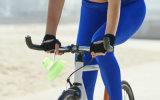 La botella de agua plegable BPA libera la botella de los deportes del silicón de la prueba del escape