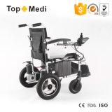 Sedia a rotelle autoalimentata piegatura elettrica Handicapped anziana delle attrezzature mediche di modo