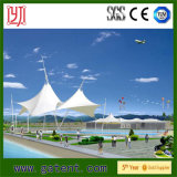 Rainproof мембрана зонтика пляжа крыши PVDF с сталью Q235
