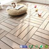 Mattonelle composite di legno antiscorrimento resistenti della piattaforma della coestrusione della termite esterna durevole