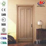 Piel de madera laminada moderna de la puerta de la melamina del dormitorio (JHK-MN11)